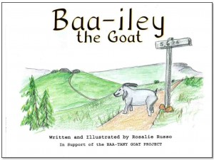 Baa-iley the Goat book