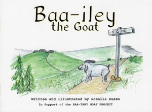 Baa-iley the Goat book cover at Xtreme Roan Adventures